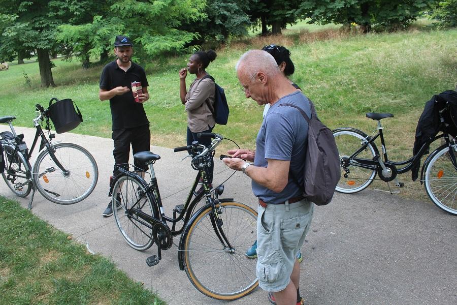 Balade à vélo sur la Tégéval