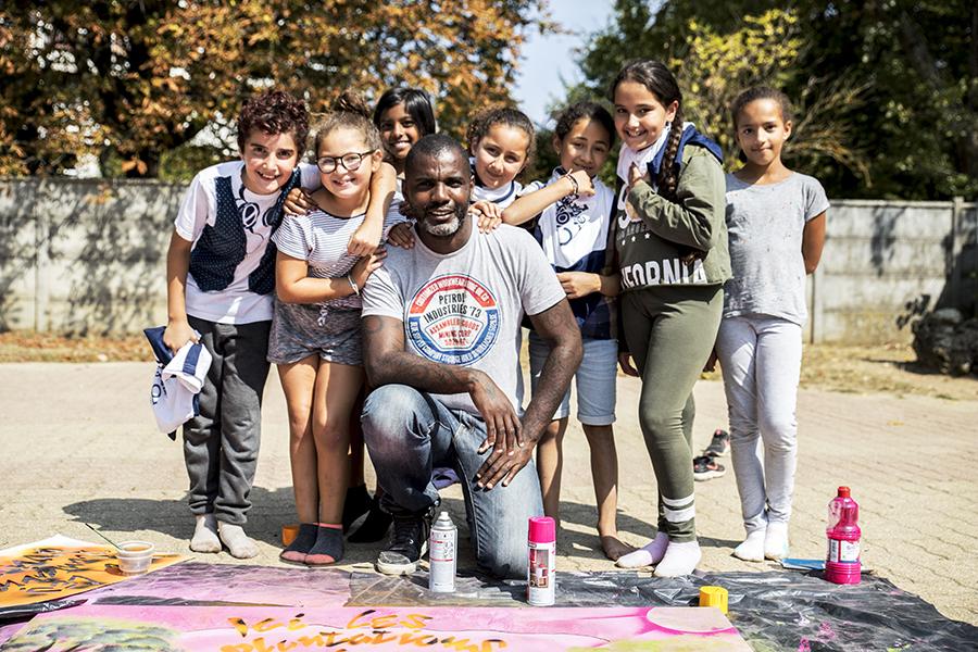 Atelier enfants: Initiation au street-art