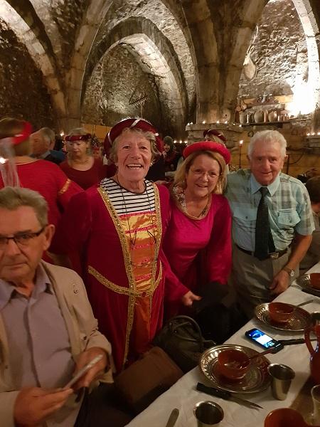 Semaine bleue: atelier bien-être et banquet des troubadours