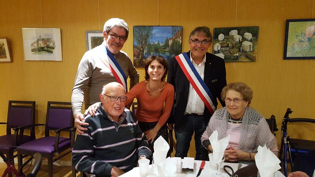 Robert et Bernadette Lucienne ont célébré leurs 65 ans de mariage