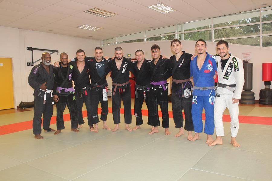 Un camp d'entrainement pour les championnats d'Europe de jujitsu brésilien