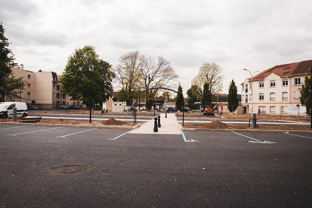 Parking du marché: règlementation du stationnement
