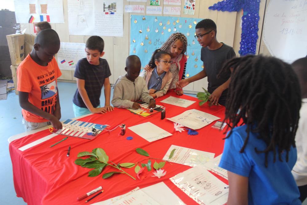 Ecole Martine Soulié: une expo interactive sur la Grande Guerre