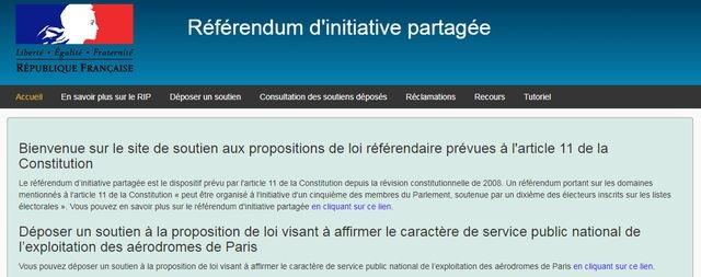 Aéroports de Paris: soutenir le projet de loi contre la privatisation d'ADP