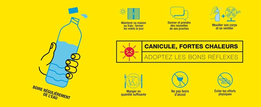 Canicule: alerte orange dès lundi 24 juin