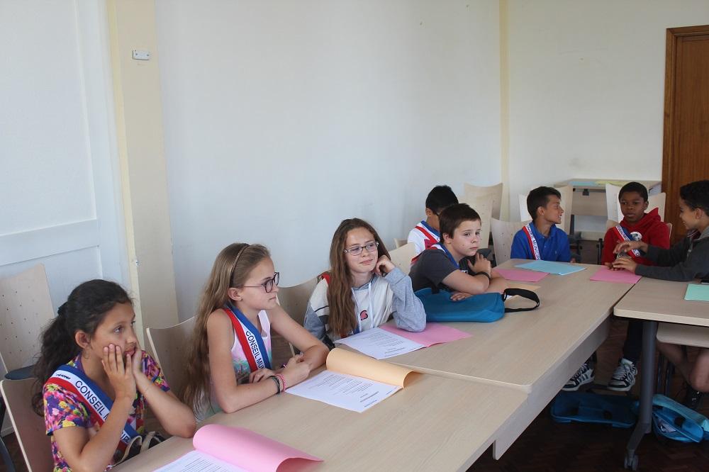 Dernière séance pour le conseil municipal des enfants