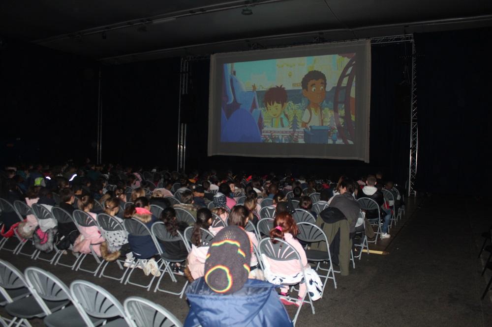 Une séance de cinéma pour les écoliers brévannais