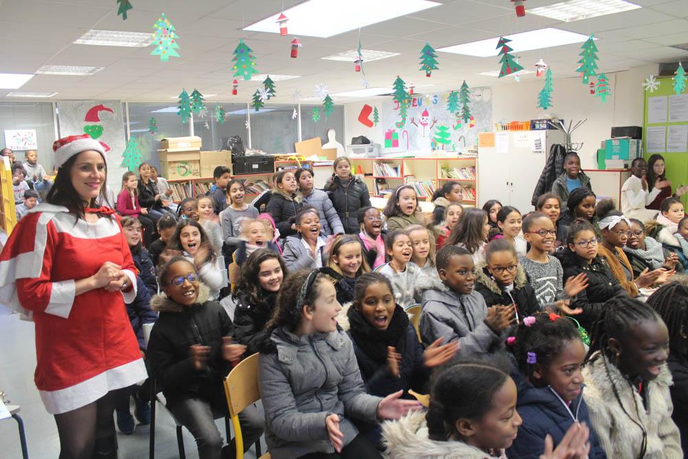 Ecole Anatole France: une fête de Noël durant la pause méridienne