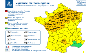 Neige et verglas : vigilance orange