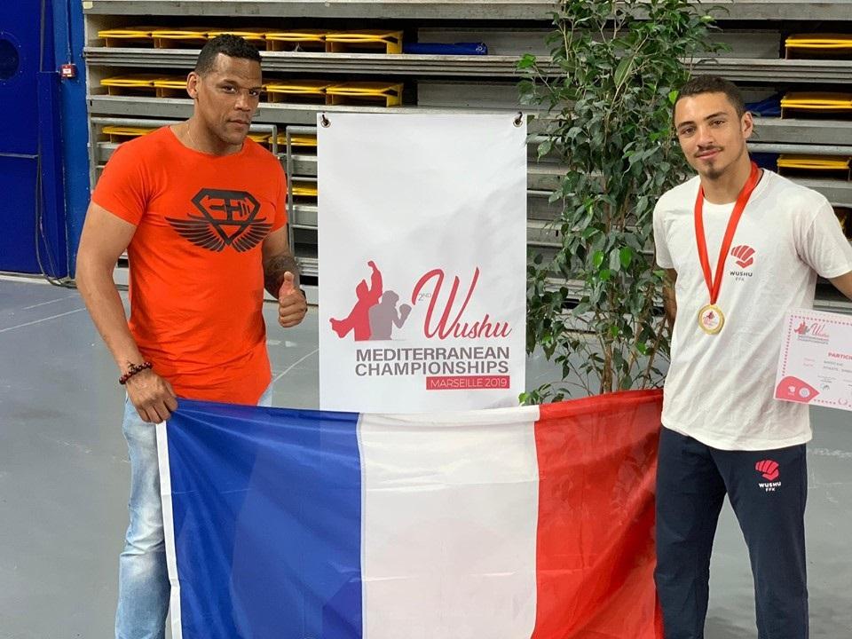 Irvin Bared remporte les Jeux Méditerranéens en sanda