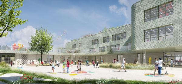 Un futur groupe scolaire aux Temps Durables pour 2021
