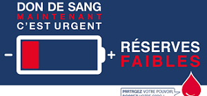 L'Etablissement Français du Sang lance un appel d'urgence national