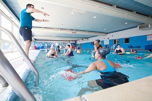 Aquatraining à la piscine